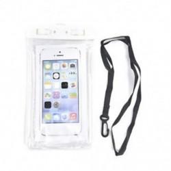 fehér Víz alatti világító tok Vízálló száraz táska tok iPhone okostelefonokhoz