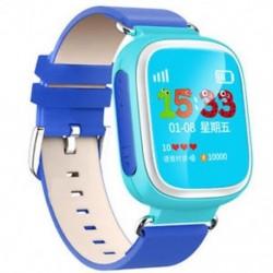Kék Anti-lost Kids Biztonságos GPS Tracker SOS Call Smart Watch csukló Android IOS Hot