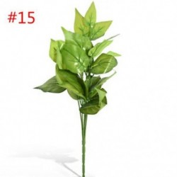 * 15 Virág csokor mesterséges selyem rózsa virág menyasszonyi esküvői fél váza dekoráció
