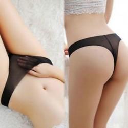 * 35 Fekete méret S Forró szexi női tanga G-string V-string bugyi Knickers fehérnemű fehérnemű
