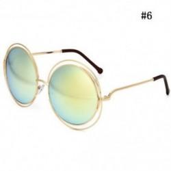 * 6 Túlméretezett kerek napszemüveg divat női nagy méretű nagy retro árnyalatú napszemüveg
