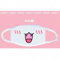 5 * Unisex aranyos anime érzelem száj-muffle Kaomoji porvédő arcmaszk Kawaii Új