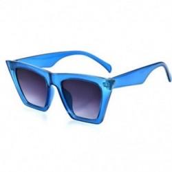 Kék Vintage Retro női macska szem napszemüveg divat árnyalatok túlméretes szemüvegek