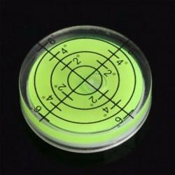 Zöld Új Spirit Bubble Degree Mark felszíni kerek körmérő mérő eszköz