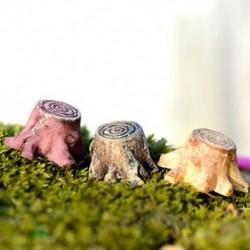Tuskó Miniatűr kézműves növényi tündérfűke babaház dekoráció kerti dísz DIY új