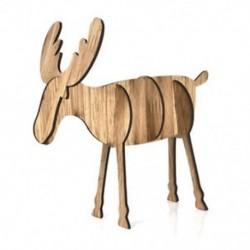 1PC kis tölgy (10X9cm) 3D karácsonyi fa medálok függő fa DIY karácsonyi dekoráció otthon fél dekoráció