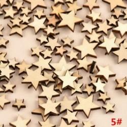 * 5 Star 100db (8mm-20mm * 2.5m ... 3D karácsonyi fa medálok függő fa DIY karácsonyi dekoráció otthon fél dekoráció