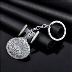 * 38 Falcon hadihajók Kreatív fém ötvözet kulcstartó autó kulcstartó Unisex kulcstartó kompass kulcstartó gyűrű