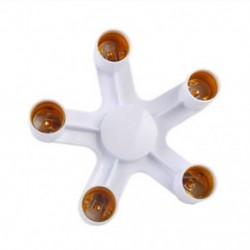 E27 1-5 E27 E27 - 1 / 5E27 alap LED átalakító adapter aljzat Splitter könnyű lámpa izzó tartó
