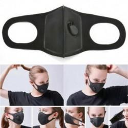 Fekete * 1 Új Unisex férfi női kerékpáros porvédő pamut száj arc légzőmaszk