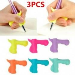 * 3 3Pcs / Véletlenszerű beállítás 3Pcs / Set Gyermek ceruzatartó tollírás Grip testtartás korrekciós eszköz Új