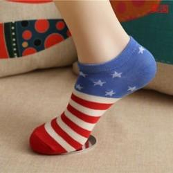 USA Divat férfi női boka zokni alacsony vágású személyzet alkalmi sport szín pamut zokni 1Pair