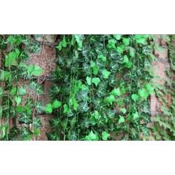 7.5ft mesterséges borostyán szőlő levélfüzér növények hamis lombozat virágok Home Decor J6
