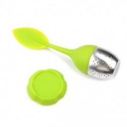 Zöld Tea infuser laza tea levél szűrő gyógynövény fűszer szűrő diffúzor labda szilikon