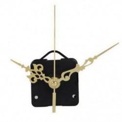 DIY óra kvarc mozgási mechanizmus arany és fekete kéz helyettesítő rész készlet