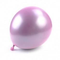 * 10 5db Pink 10 &quot  10x latex / fólia felfújható ballon boldog új évet brithday esküvői party dekoráció