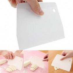 Cake Plain Edge Scraper vágószerszám sima simító penész szerszámok fehér