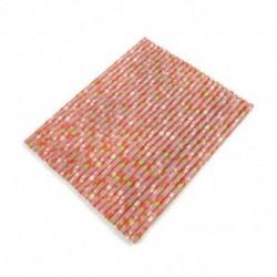 25 PCS Eperpapír szalma 25db újrahasznosítható papírszalag csíkos otthon születésnapi party esküvői dekoráció