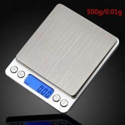 500 g * 0,01 0,01 / 0,1 500g digitális LCD elektronikus mérleg súly zseb ékszer gyémánt skála