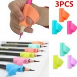 * 2 3Pcs / Véletlenszerű beállítás 3PCS / Set gyermek ceruzatartó toll író segédeszköz fogantyú korrekciós eszköz