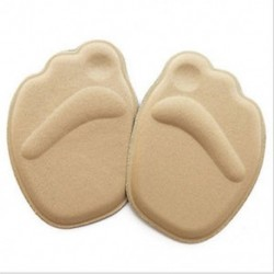 Khaki Magassarkú lábpárnák Elülső csúszásgátló talpbetét Légáteresztő cipő Pad Soft Sole