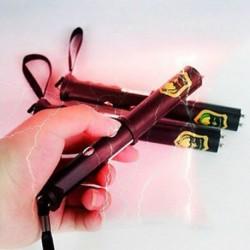 Új elektromos sokkoló ütés pálca villanófény kísérteties Joke Gadget trükk gag játék
