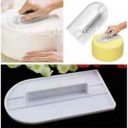 Cake simább polírozó eszközök Cutter Fondant Sugarcraft jegesedés díszítő penész J6P