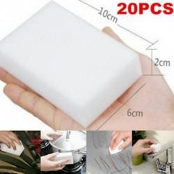 20X Melamin Foam Magic Sponge Eraser Többfunkciós Home Cleaning Cleaner Pad