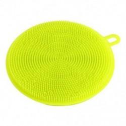 Zöld Szilikonos edénymosogató szivacsos súroló konyha Tiszta antibakteriális eszköz konyha
