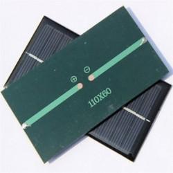 6V 1W napelemes modul DIY könnyű akkumulátor cellás játékok töltőknek JP