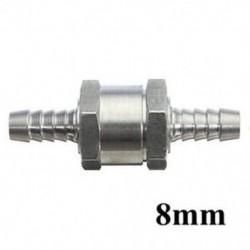 8mm 6/8/10 / 12mm visszacsatolás nélküli egyirányú szelepcsapágy-légtelenítő üzemanyag alumínium szerszám