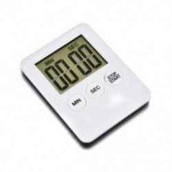 Piros Nagy LCD digitális konyha főzés időzítő visszaszámlálás ébresztőóra mágneses forró