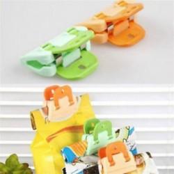 4x konyhai tároló táska Clip friss élelmiszer-chipek snack zsák klipek Szervező eszköz