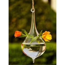Vízcsepp alakú Üveg lógó labda váza virág ültetvény pot terrárium konténer otthoni kert dekoráció