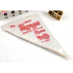 S 275 * 170 mm Rengeteg 3 méret 100db eldobható jegesedési csövek Cake tészta Cupcake díszítő táskák