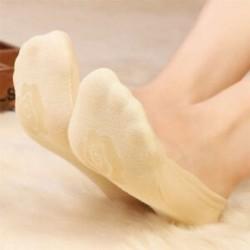 Világos bőrszín Divat nők pamut láthatatlan nincs bemutató nemes loafer hajó vonalhajó alacsony vágású zokni