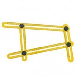 Funkció Angle-Izer Ultimate csempe és padló sablon eszköz többszögű vonalzó