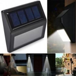 1 Pack 6 LED napelemes érzékelő Vízálló 20 LED napenergia Power PIR mozgásérzékelő fali fény Kültéri kerti lámpa