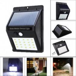 1 Pack-20 LED 48/90/144 LED napelemes tápegység Kerti lámpa Spotlight gyep tájképek vízálló