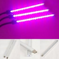 1 x spektrális USB LED virágnövény növekvő fény az üvegházhatást okozó hidroponikus cserépben