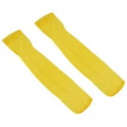 Sárga Férfi szexi nylon nyomon követhetetlen selymes térd magas zokni viselni puszta háló harisnya Új