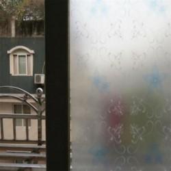 Krizantém PVC vízálló adatvédelem Matt homlokzati hálószoba fürdőszoba ablak matrica üvegfólia