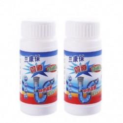 2db Konyhai mosogató WC lefolyóblokk Blokkolásmentesítő portisztító Pipeline Clean Powder