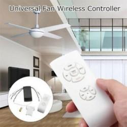 Univerzális időzítésű vezeték nélküli távirányító mennyezeti ventilátor lámpa távirányító készlet