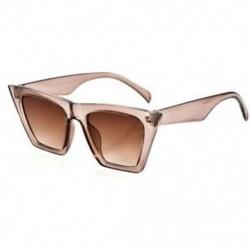 H-Champagne Vintage Retro női férfiak szemüveg túlméretezett geometriai lapos tükör lencse napszemüveg
