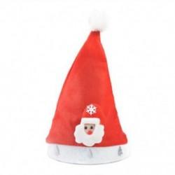 Santa Claus gyerekeknek 1 x Felnőtt gyermekek LED karácsonyi kalap Mikulás rénszarvas hóember fél sapka ajándék