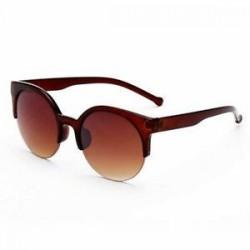 Tea szín Női macska szem Retro Vintage kerek napszemüveg szemüveg szemüvegek UV400 árnyalatok Új
