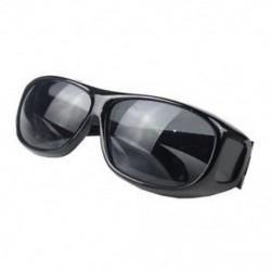 Fekete Unisex férfiak nők HD éjszakai látás a Wrap szemüveg körül Napszemüvegek Új