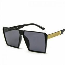 * 1 Forró női lapos felső nagy méretű négyzet alakú keret napszemüveg Unisex divat
