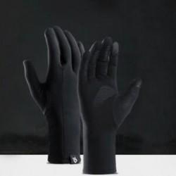 L Vízálló téli termikus teljes ujj meleg kesztyű Kerékpározás csúszásgátló érintőképernyő